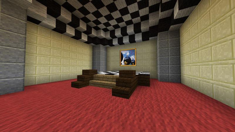 Mario 64\'s Hub World Recreated In Minecraft - Minecrafters