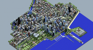 Minecrafter Spends All Of 2015 Creating Scale Model Of Chicago