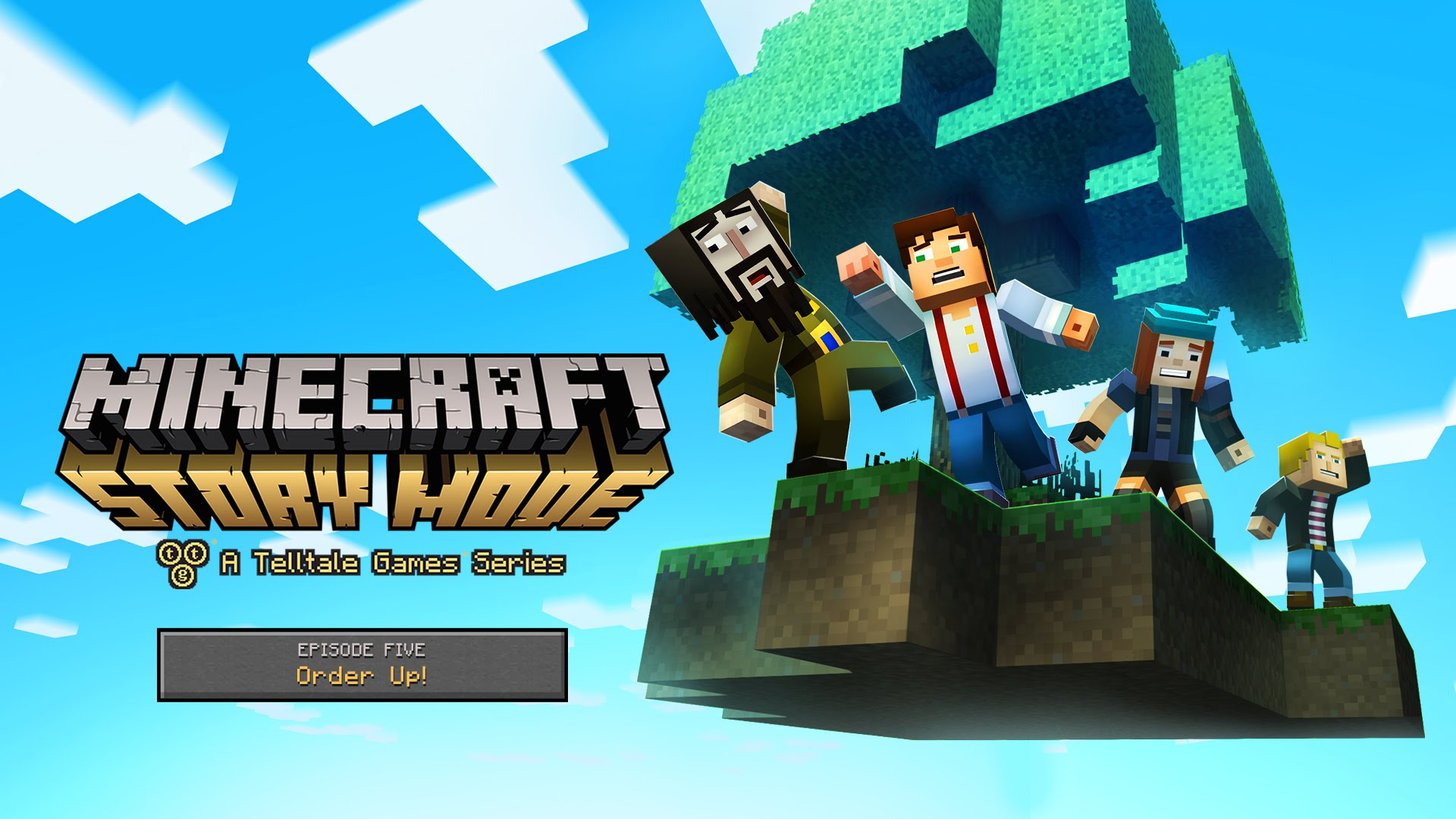 Order Up Episode 5 Of Minecraft Story Mode Today Minecrafters