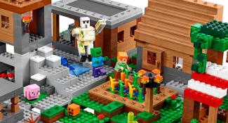 Presenting The Largest Lego Minecraft Set Ever: The Village