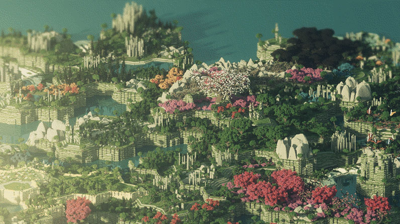 THIS Is A Minecraft Map, No Fooling