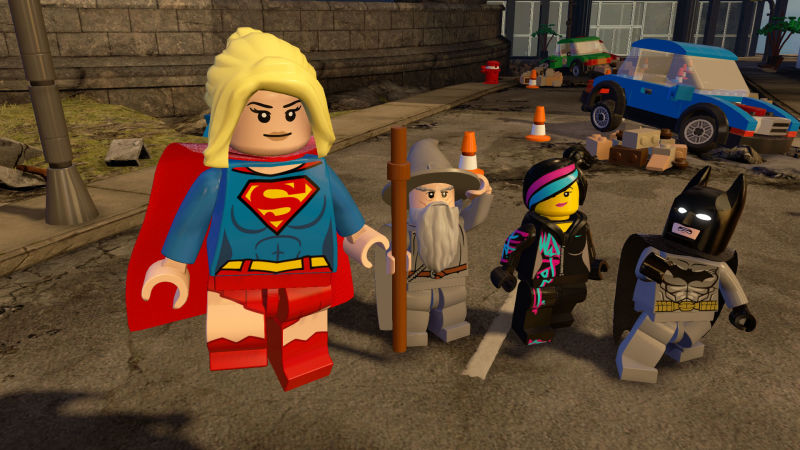 Supergirl Comes To Lego Dimensions Starter Pack